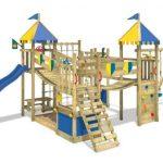 El mejor parque infantil de madera