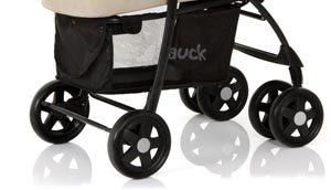 Ruedas cochecito bebe 3 en 1 cesta contenedora