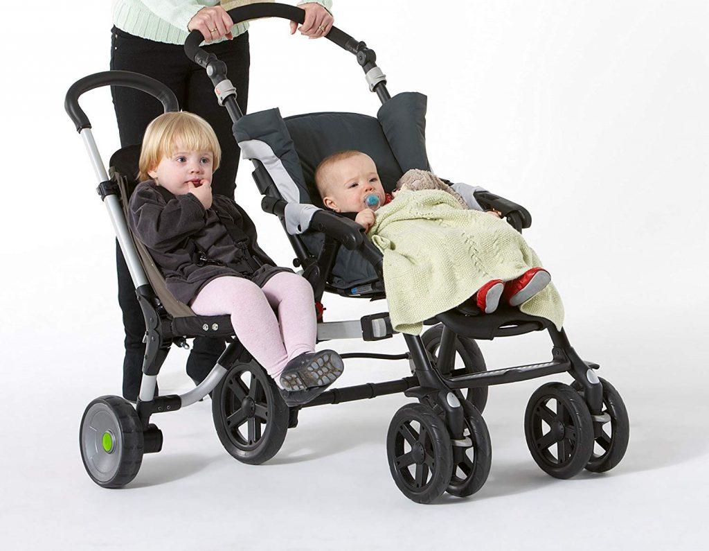 Buggypod IO - Asiento adicional sidecar para cochecito de bebé Buggypod