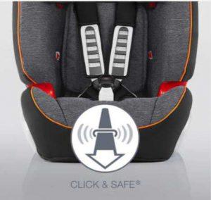 Asiento para el coche infantil - Britax Romer Evolva 1-2-3 Click & Safe