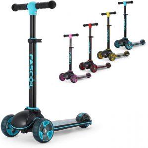 Patinete de 3 ruedas Fascol para niños: precio y oferta