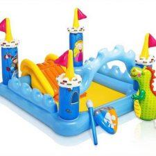 Revisamos la piscina para niños: Castillo con Tobogan Inflable