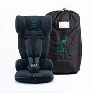 Silla de viaje infantil plegable y portátil Urban Kanga Grupo 1 9-18 kg (Uptown TV107) (Negro)