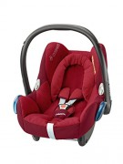 Maxi-Cosi CabrioFix – Silla de coche grupo 0+, 0-13 kg, color robin red