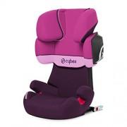 Cybex Solution X2-fix – Silla de coche, grupo 2/3 (15-36 kg), color Purple rain
