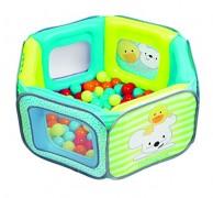 Parque de juegos con bolas de colores para bebé de ItsImagical