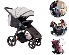 Star Ibaby Air 2018 – Silla de paseo reclinable con barra de seguridad