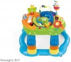 Andador para bebé Brevi >> Short 551 3-en-1 Giragiro Baby Walker