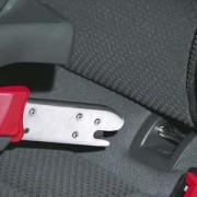 La guía de uso del asiento de coche Isofix para niños